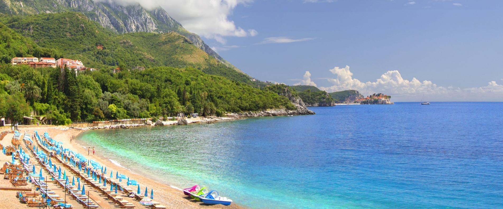 ТОП 10: Пляжи Черногории