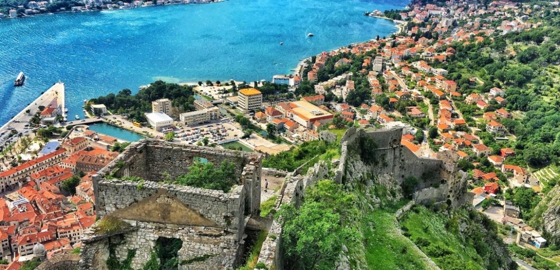 Bastione di San Giovanni, крепость Сан Джованни (святого Иоанна) в Которе