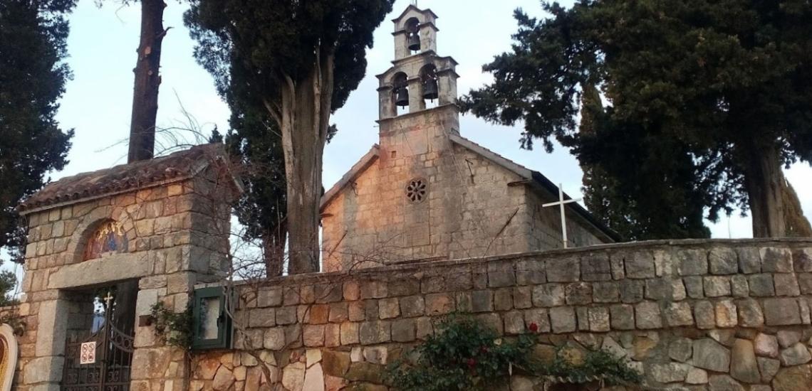 Црква Свете Тројице, Церковь Святой Троицы в Тивате