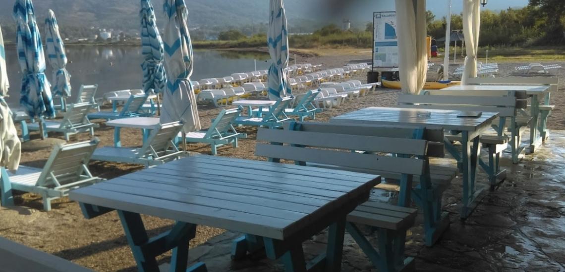 Kalardovo beach, пляж Калардово в Тивате