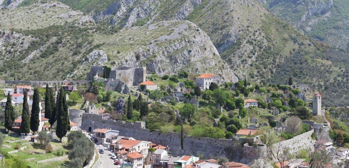 Tvrđava Stari Bar, крепость Старого города Бар