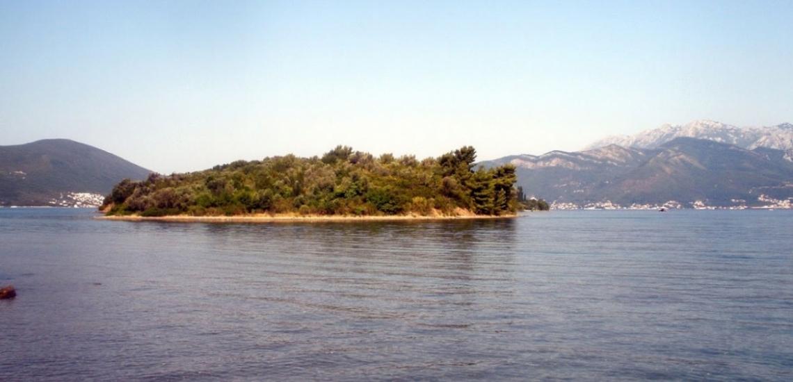 St. Mark's (Stradioti) Island in Tivat, остров Святого Марка (Страдиоти) в Тивате
