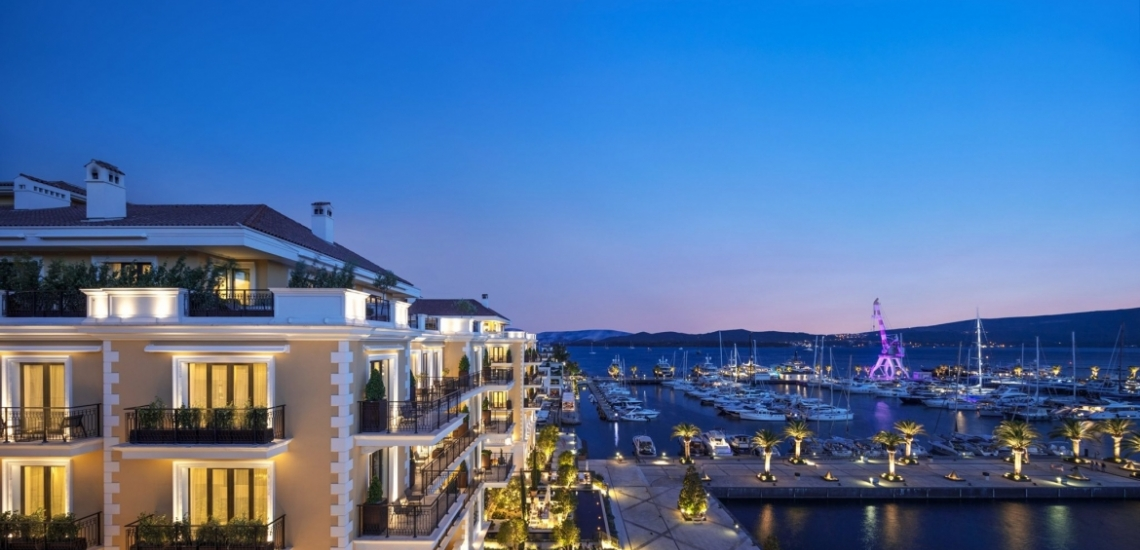 Porto Montenegro, курорт «Порто Монтенегро» в Тивате