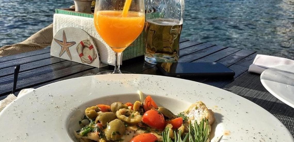 Restaurant Carrubba, ресторан Carrubba в Тивате