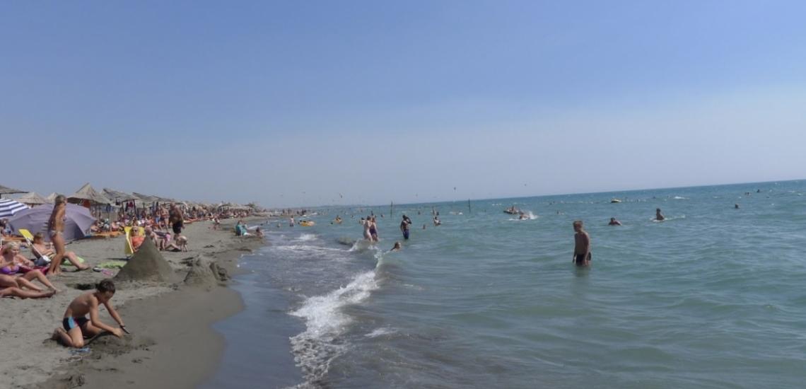 Velika plaža, Великий пляж в Улцине